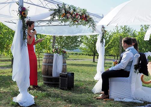 Hochzeit Traurednerin Freie Rede